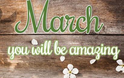 30 ảnh bìa facebook chào tháng 3 – Hello March không thể bỏ qua