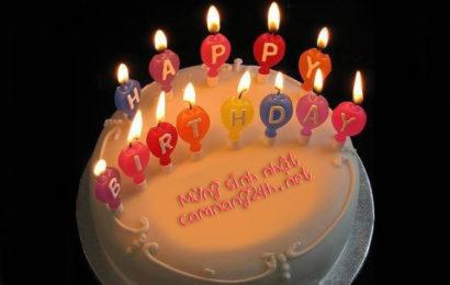 Hướng dẫn viết lời chúc lên bánh kem mừng sinh nhật online