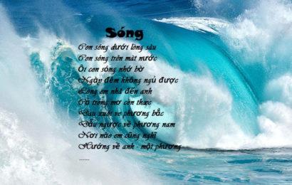 Cảm nhận được gì về tâm hồn người phụ nữ trong tình yêu qua bài thơ Sóng của Xuân Quỳnh