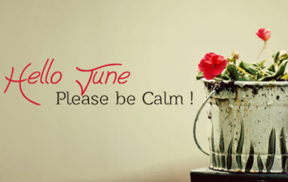 Bộ ảnh bìa facebook chào tháng 6 – Hello June ấn tượng từ cái nhìn đầu tiên