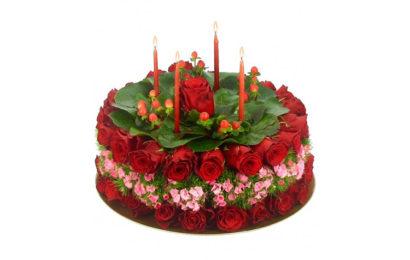 30 bánh hoa hồng chúc mừng sinh nhật lung linh sắc màu