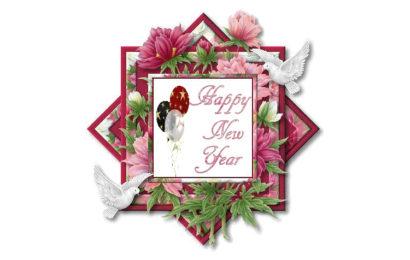 Hình ảnh động chúc mừng năm mới – Happy new year lung linh sắc màu