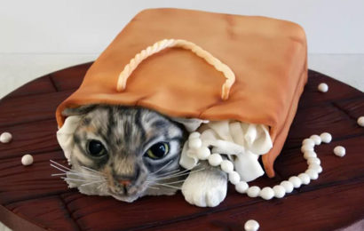 30 hình ảnh bánh kem chúc mừng sinh nhật người tuổi Mão (Mèo) đẹp