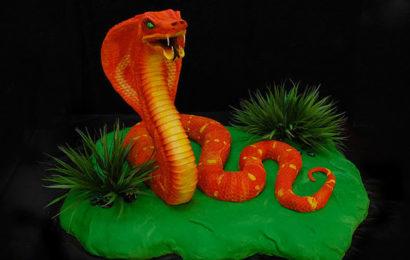 30 hình ảnh bánh gato, bánh kem chúc mừng sinh nhật người tuổi Tỵ (Rắn) đẹp