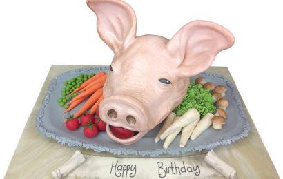 Những hình ảnh bánh kem chúc mừng sinh nhật người tuổi hợi (lợn) đẹp