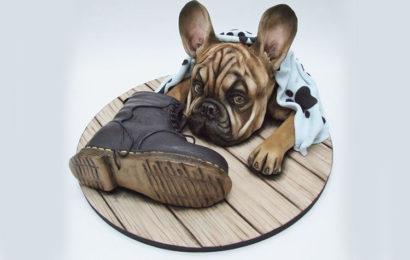 Hình ảnh bánh gato, bánh kem chúc mừng sinh nhật người tuổi tuất (chó) đẹp