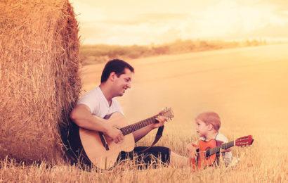 Bộ ảnh bìa facebook cảm động về tình cha con đong đầy yêu thương