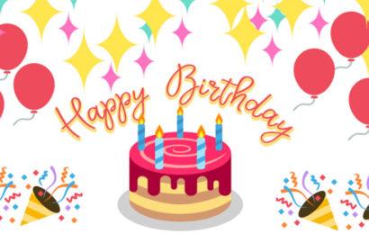 Những hình ảnh động chúc mừng sinh nhật lung linh sắc màu