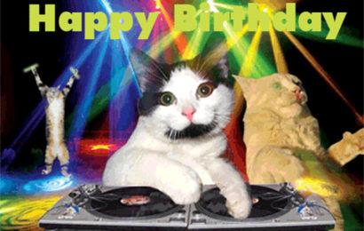 Hình ảnh động chúc mừng sinh nhật – Happy Birthday vui nhộn