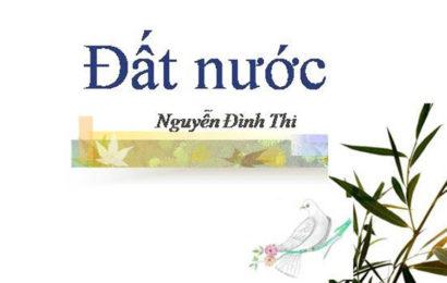 Văn mẫu bình giảng bài thơ Đất Nước của Nguyễn Đình Thi ở ngữ văn lớp 12