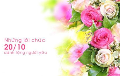 20 lời chúc dành tặng bạn gái hay và ý nghĩa nhân ngày phụ nữ Việt Nam 20/10
