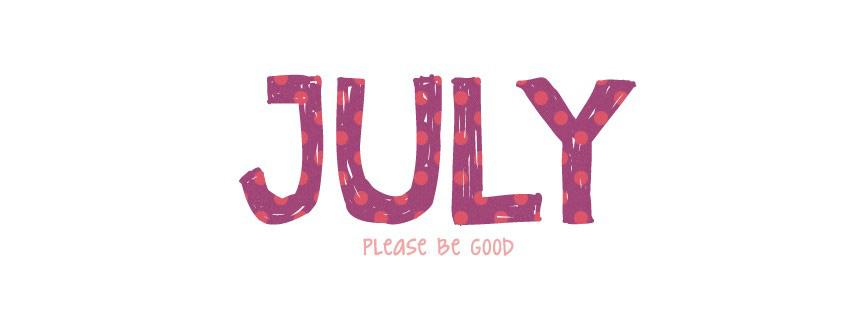 Những ảnh bìa facebook chào tháng 7 - Hello July số 10