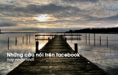 Bộ tuyển tập những câu nói hay trên facebook nên đọc