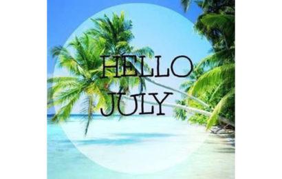 Tuyển tập Avatar chào tháng 7 – Hello July đẹp cho facebook