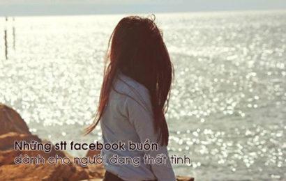 Tuyển tập status facebook buồn dành cho người đang thất tình hay
