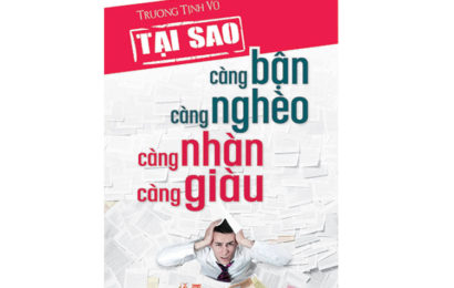 """Video Audio ebook """"Tại Sao Càng Bận Càng Nghèo Càng Nhàn Càng Giàu"""" của Trương Tịnh Vũ"""