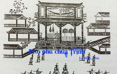 Bài soạn Vào phủ chúa Trịnh ngắn gọn ở ngữ văn lớp 11