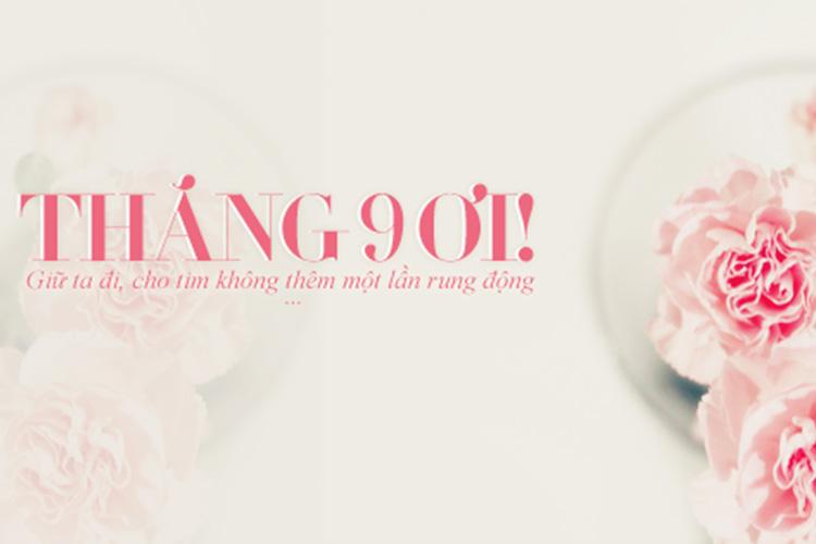 Bộ tuyển tập cover, ảnh bìa chào tháng 9 – Hello September đẹp