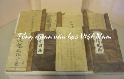Bài soạn Tổng quan văn học Việt Nam ở ngữ văn lớp 10 chi tiết
