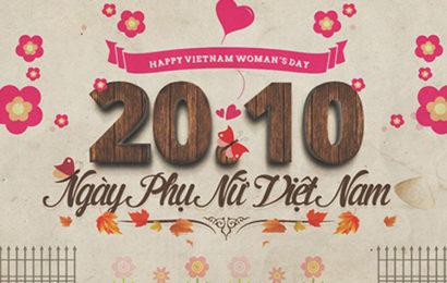 30 ảnh bìa facebook chúc mừng ngày phụ nữ Việt Nam 20/10 độc đáo