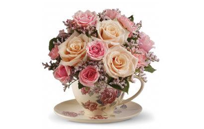 Những bó hoa, lọ hoa hồng kèm lời chúc mừng sinh nhật người yêu đẹp và ý nghĩa
