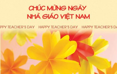 20 bức thiệp chúc mừng ngày nhà giáo Việt Nam 20/11 đẹp và độc đáo