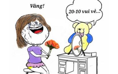Tuyển tập những bức ảnh chế hài hước ngày phụ nữ Việt Nam 20/10 hay