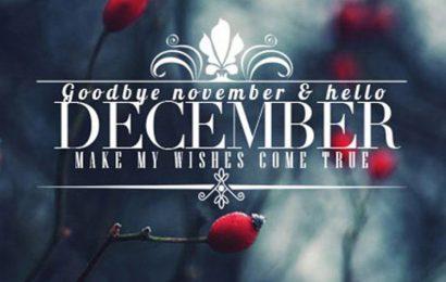 Chia sẻ những ảnh bìa facebook chào tháng 12 – Hello December đẹp