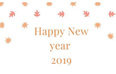 Bức thiệp và những hình ảnh động chúc mừng năm mới 2019 đẹp