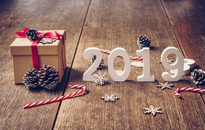 Hình nền chúc mừng giáng sinh và năm mới 2019 đẹp lung linh