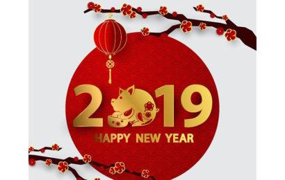 Tuyển tập bộ hình ảnh, hình nền chúc tết và mừng năm mới (happy new year) 2019