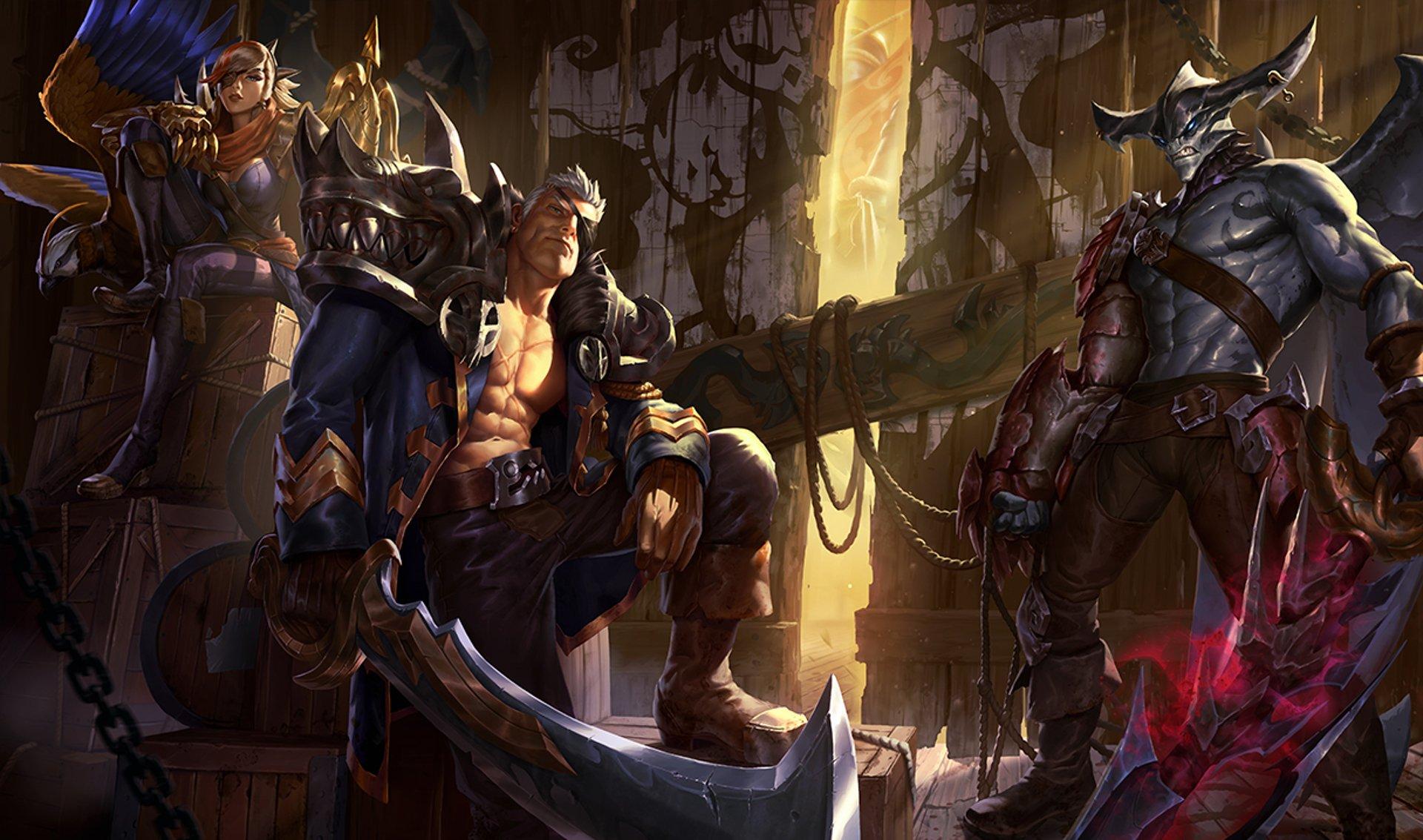 20 hình nền tướng quân Aatrox trong game liên minh huyền thoại số 11
