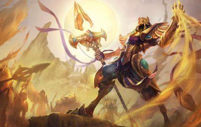 20 hình nền tướng Azir mệnh danh Hoàng Đế Sa Mạc trong liên minh