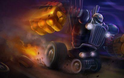 Bộ tuyển tập hình nền Người Máy Hơi Nước Blitzcrank trong game liên minh
