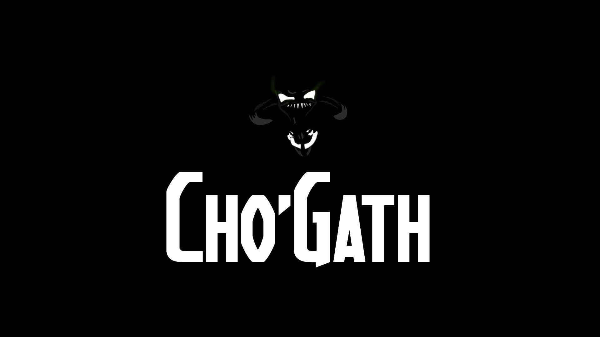 hình nền tướng Cho'Gath (quái vật hư không) trong game liên minh số 16