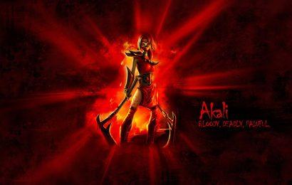 Top 20 hình nền nữ tướng sát thủ đơn độc Akali trong game liên minh huyền thoại
