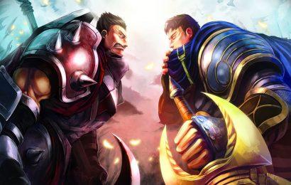 Hình nền tướng Darius và em trai Draven trong game LOL full hd