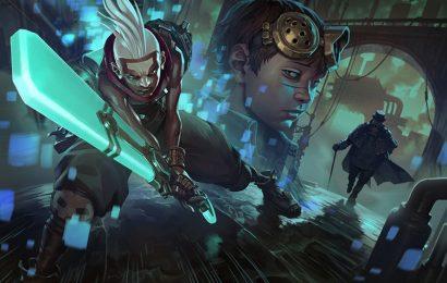 Những hình nền tướng Ekko (Cậu Bé Đảo Lộn Thời Gian) trong game liên minh