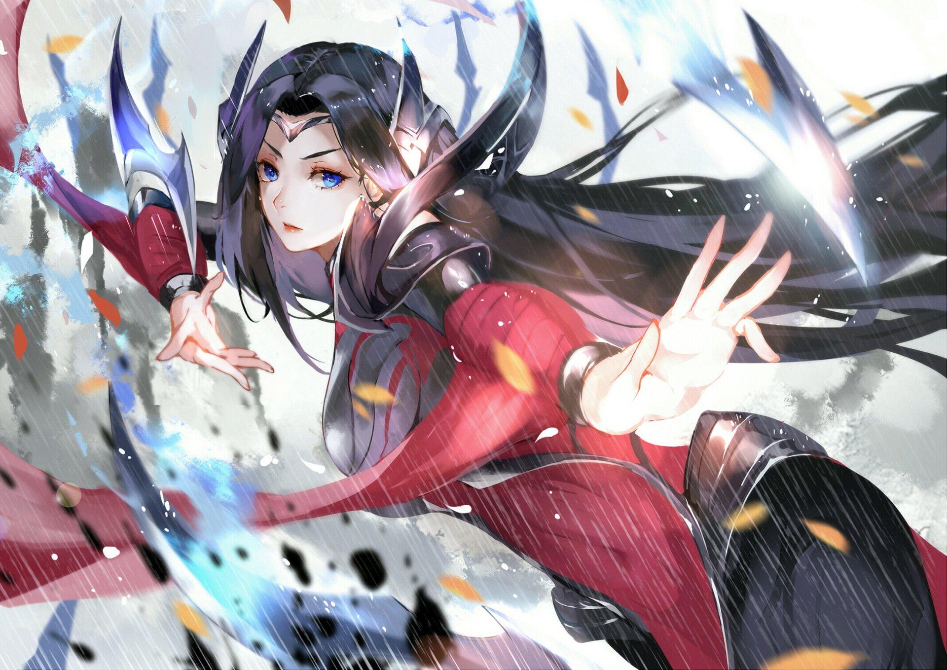 Tuyển tập hình nền nữ tướng Irelia (Vũ Kiếm Sư) trong game LOL số 41
