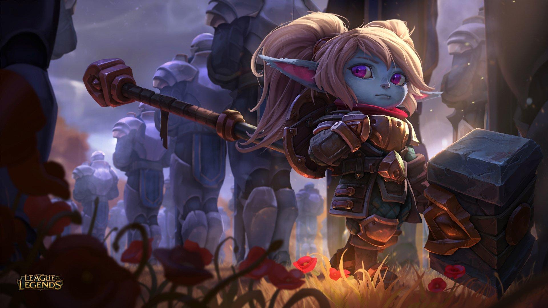Top 50 hình nền tướng Poppy (Người Giữa Búa) trong LOL số 3