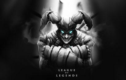 Top 30 hình nền tướng Shaco (Tên Hề Quỷ) trong game LOL full hd