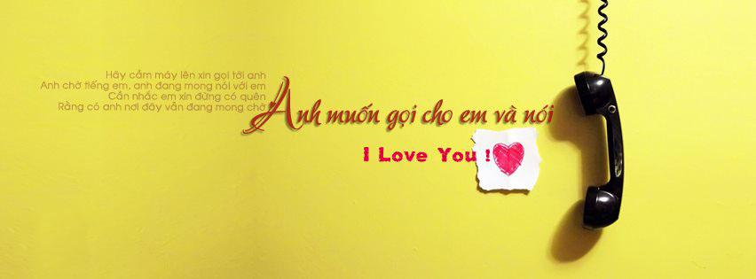 cover và ảnh bìa facebook status về tình yêu số 13