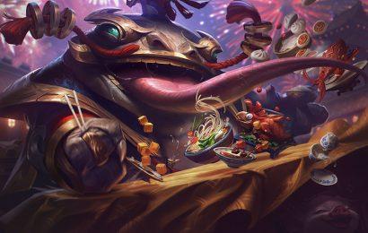 Top 30 hình nền tướng Tahm Kench (The River King) trong game LOL