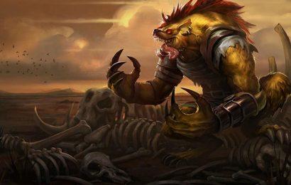 Top hình nền tướng Warwick (Quái Thú Sống Chuồng) trong game LOL full hd
