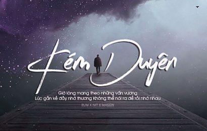 Share file psd thiết kế cover và ảnh bìa bài hát kém duyên đầy tâm trạng