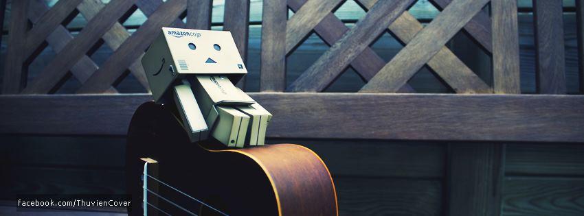 cover và ảnh bìa búp bê gỗ Danbo đáng yêu số 19