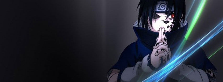 cover và ảnh bìa facebook về nhân vật Sasuke Uchiha số 10