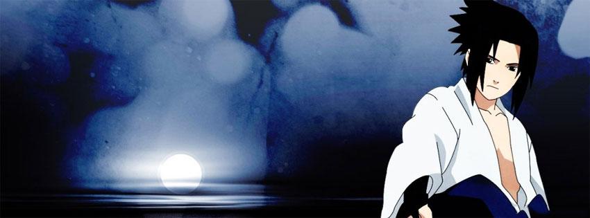 cover và ảnh bìa facebook về nhân vật Sasuke Uchiha số 8