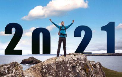 Hình ảnh bức thiệp động chúc mừng năm mới – Happy New Year 2021 tân sửu