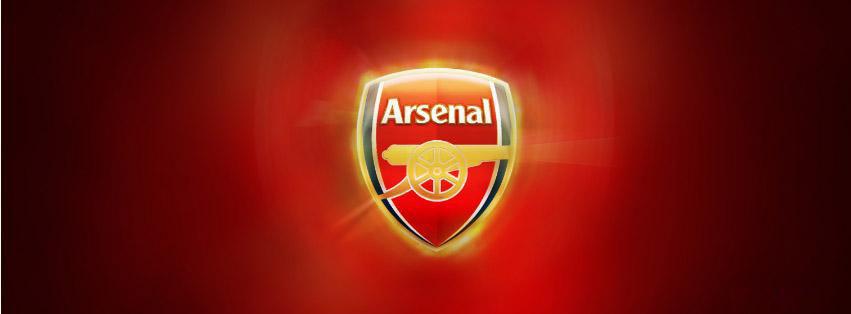 cover facebook câu lạc bộ bóng đá Arsenal pháo thủ thành London số 5